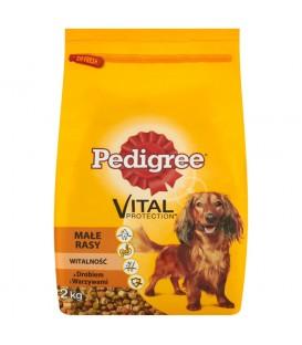 Pedigree Vital Protection z drobiem i warzywami Małe rasy Witalność Karma pełnoporcjowa 2 kg