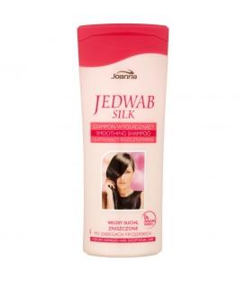 Joanna Jedwab Szampon wygładzający ułatwiający rozczesywanie włosy suche zniszczone 200 ml
