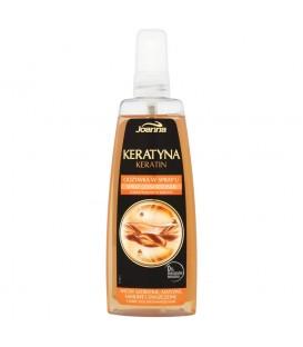 Joanna Keratyna Odżywka w spray'u włosy szorstkie matowe łamliwe i zniszczone 150 ml