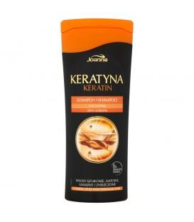 Joanna Keratyna Szampon włosy szorstkie matowe łamliwe i zniszczone 200 ml