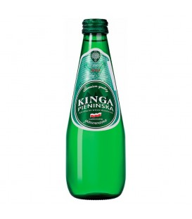 Kinga Pienińska Naturalna Woda Mineralna gazowana 0,33 l