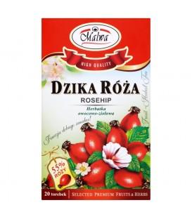 Malwa Dzika róża Herbatka owocowo-ziołowa 40 g (20 torebek)