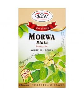 Malwa Morwa biała Suplement diety Herbatka ziołowa 40 g (20 torebek)