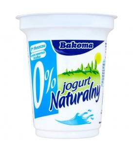 Bakoma Jogurt naturalny 0% 350 g