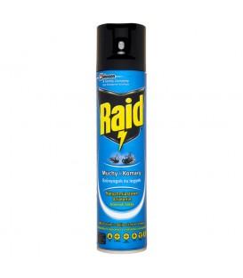 Raid przeciw muchom komarom osom i innym owadom latającym w aerozolu 400 ml