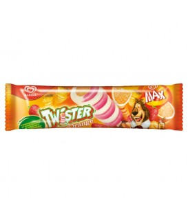 Algida Max Twister Orange Lody 80 ml