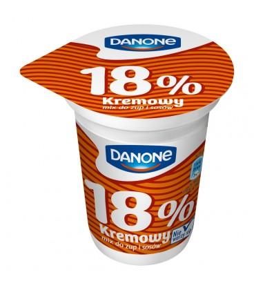 Danone Kremowy mix do zup i sosów 18% 330 g