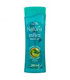 Joanna Naturia body Żel pod prysznic z aloesem i limonką 300 ml