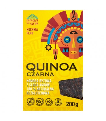 Casa Del Sur Quinoa czarna Komosa ryżowa 200 g