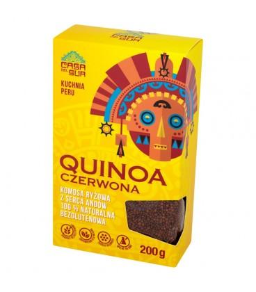 Casa Del Sur Quinoa czerwona Komosa ryżowa 200 g