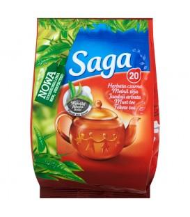 Saga Herbata czarna 24 g (20 torebek)