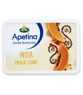 Apetina India Serek kremowy papaja i curry 125 g