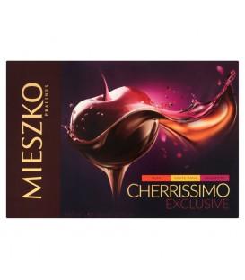 Mieszko Cherrissimo Exclusive Czekoladki nadziewane wiśnie w alkoholach 310 g