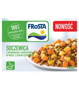 FRoSTA Soczewica z ziemniakami i marchewką w maśle z dzikim czosnkiem 260 g