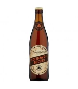 Konstancin Z dębowej beczki Piwo jasne 500 ml