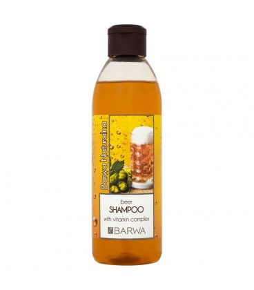 Barwa Naturalna Szampon piwny dodający blasku z kompleksem witamin 300 ml