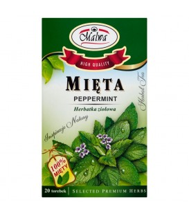 Malwa Mięta Herbatka ziołowa 40 g (20 torebek)