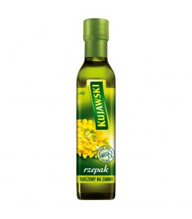 Kujawski rzepak Olej tłoczony na zimno 250 ml