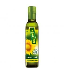 Kujawski słonecznik Olej tłoczony na zimno 250 ml