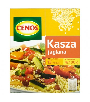 Cenos Kasza jaglana 400 g (4 torebki)