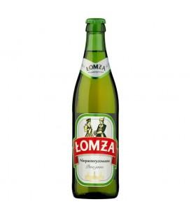 Łomża Niepasteryzowane Piwo jasne 500 ml