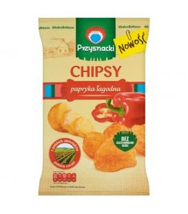 Przysnacki Chipsy papryka łagodna 135 g