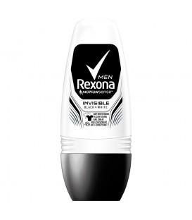 Rexona Men Invisible Black + White Antyperspirant w kulce 50 ml