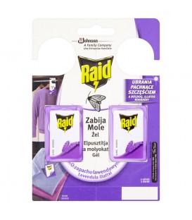 Raid Zawieszki przeciw molom w żelu o zapachu lawendowym 2 x 3 g