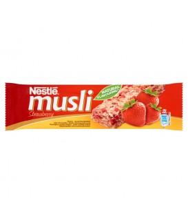 Nestlé Musli Strawberry Batonik zbożowy 35 g