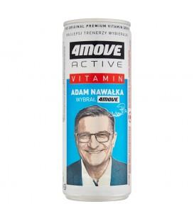 4Move Active Vitamin Magnez + Witamina B6 Napój gazowany 250 ml