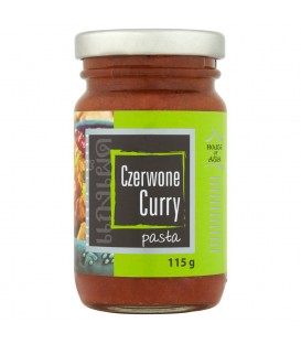 House of Asia Czerwone curry Pasta 115 g
