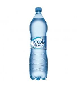 Kropla Beskidu Naturalna woda mineralna gazowana 1,5 l