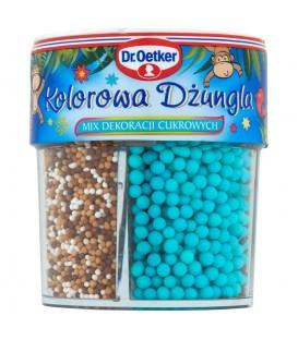 Dr. Oetker Kolorowa dżungla Mix dekoracji cukrowych 84 g