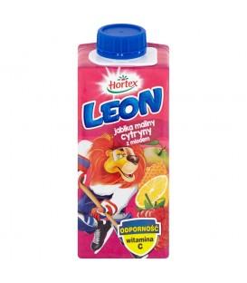 Hortex Leon Jabłka maliny cytryny z miodem Nektar 200 ml