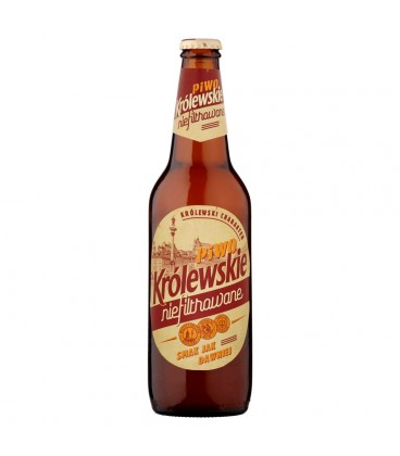 Królewskie Niefiltrowane Piwo jasne 500 ml