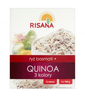 Risana Ryż basmati + Quinoa 3 kolory 200 g (2 torebki)