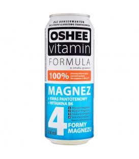 Oshee Vitamin Formula Magnez Napój gazowany o smaku grawioli 500 ml