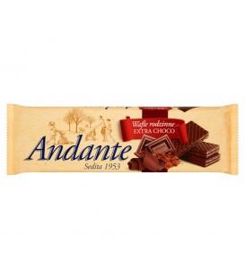 Andante Wafle rodzinne Extra Choco 130 g