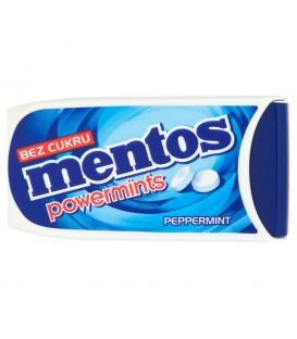 Mentos Powermints Odświeżające pastylki bez cukru o smaku miętowym 5,7 g