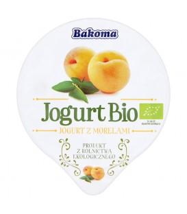 Bakoma Jogurt Bio z morelami 140 g
