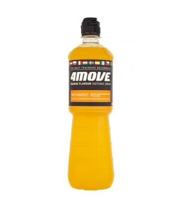 4Move Napój izotoniczny niegazowany o smaku pomarańczowym 0,75 l