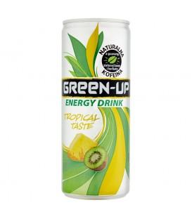 Green-Up Tropical Taste Napój energetyzujący 250 ml