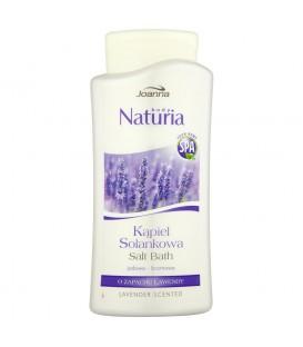 Joanna Naturia body Kąpiel solankowa o zapachu lawendy 500 ml