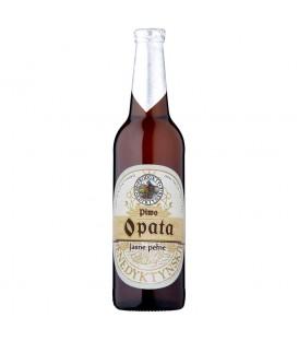Produkty Benedyktyńskie Piwo Opata jasne pełne 500 ml