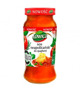 Łowicz Sos neapolitański do spaghetti 500 g