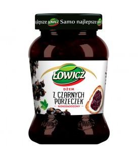 Łowicz Dżem z czarnych porzeczek niskosłodzony 450 g
