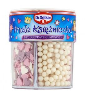 Dr. Oetker Mała księżniczka Mix dekoracji cukrowych 78 g