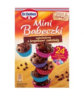 Dr. Oetker Mini Babeczki czekoladowe z kropelkami czekolady 245 g