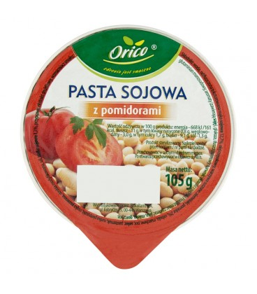 Orico Pasta sojowa z pomidorami 105 g