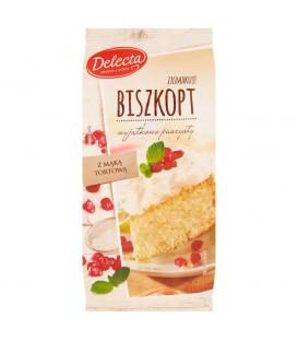 Delecta Biszkopt Ciasto w proszku 380 g